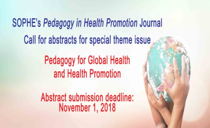 PHP's call for abstracts for global health