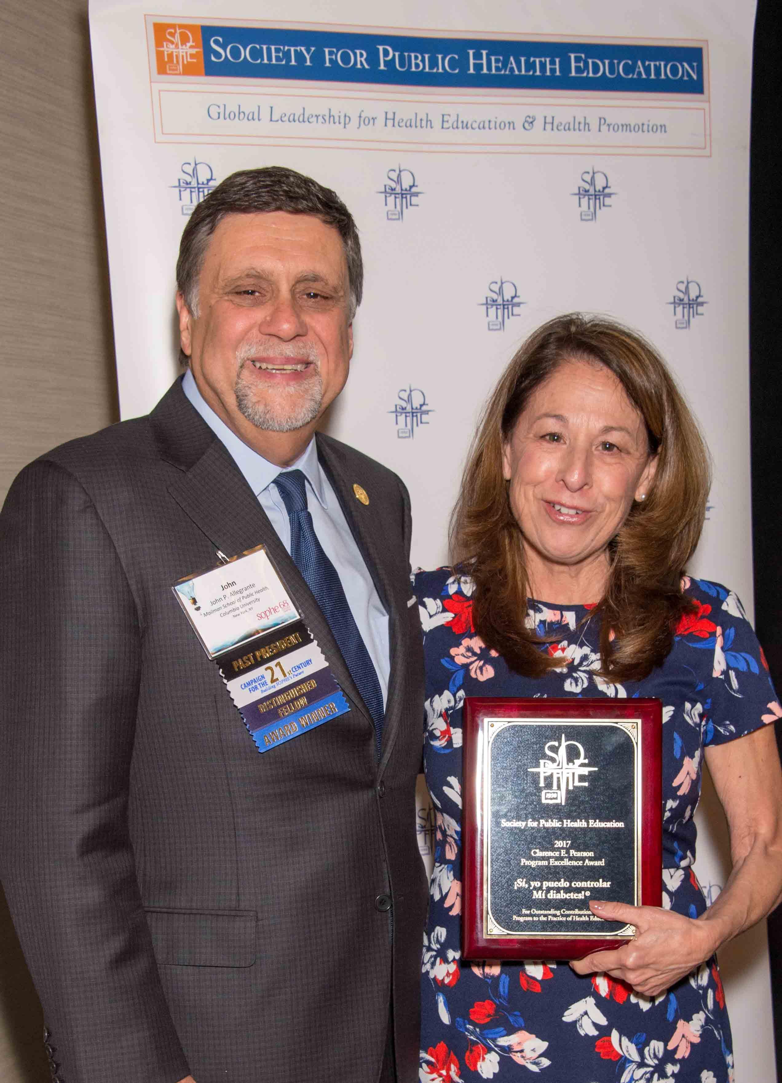 Clarence E Pearson Program Award 2017