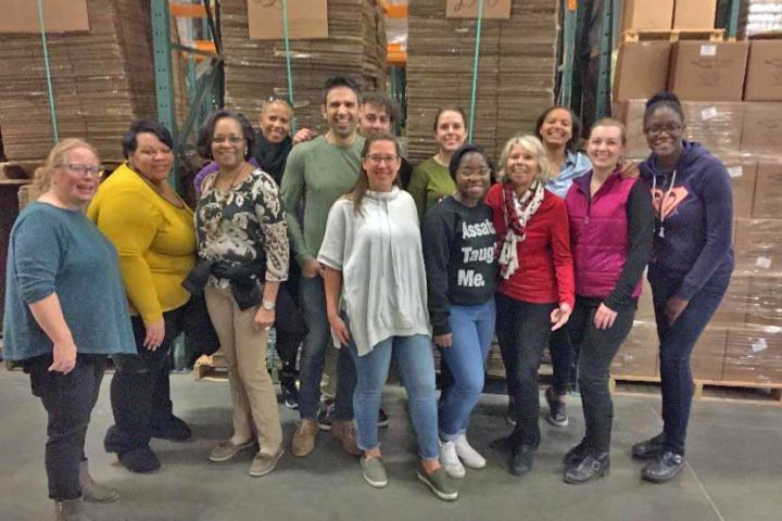 SOPHE staff at National Capital Area Food Bank