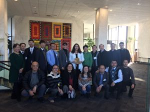 Chinese delegation and SOPHE staff visit NIH