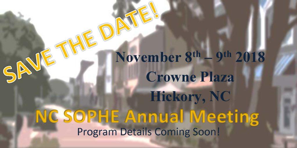 NC SOPHE Annual Meeting