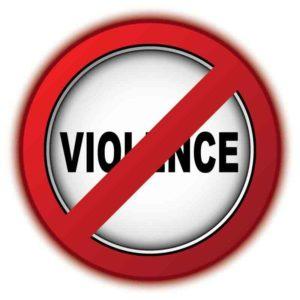 no violence image