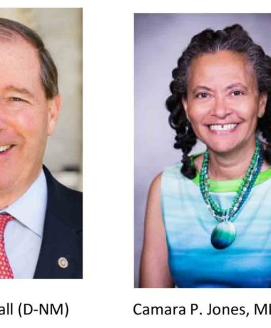 Sen. Tom Udall and Camara P Jones