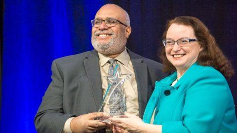 Dr. Georges Benjamin and Dr. Angela Mickalide