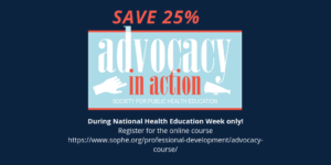 save 25% on advocacy in action course