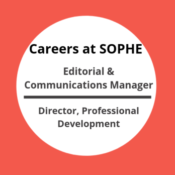 SOPHE Career Opportunities