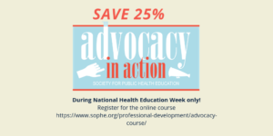 advocacy in action save 25%