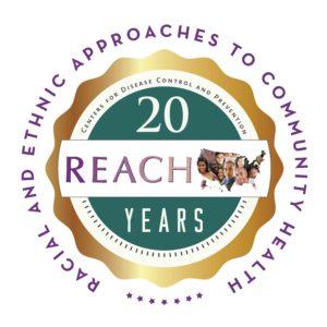 REACH 20th anniversary logo