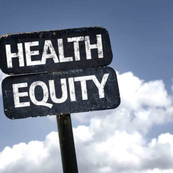 health equity sign