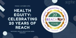 NHEW Webinar on 10/25 Health Equity