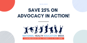 Save 25% on Advocacy in Action