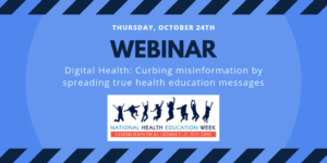 NHEW Webinar 10/24 Health Misinformation