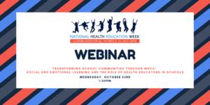 NHEW webinar 10/23 School Health