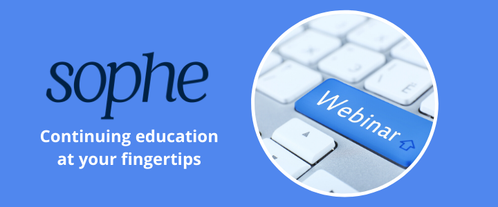 SOPHE webinar: continuing education at your fingertips