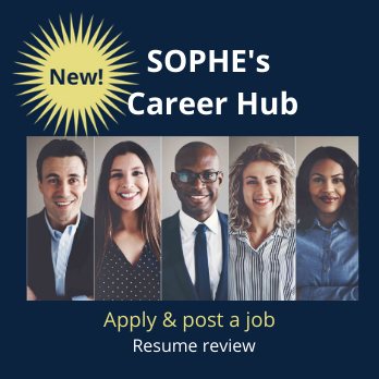 SOPHE Career Hub feature