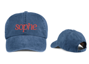 SOPHE hats in the SOPHE store