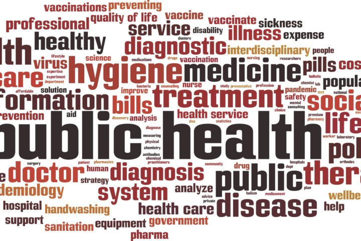 public health word art
