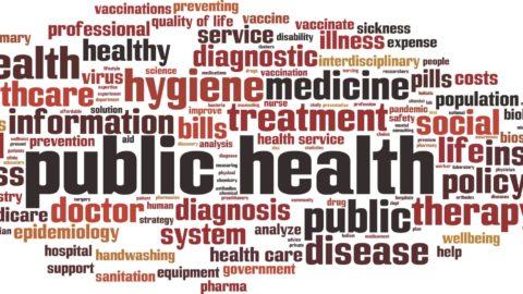 public health word art