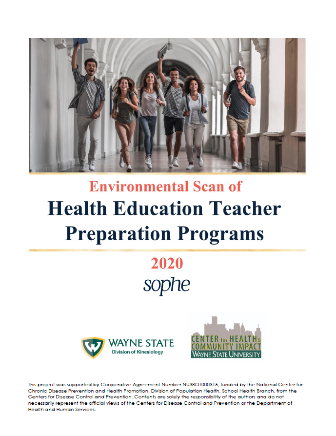 Environmental Scan of Teacher Health Education Preparation Programs 2020