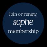 join or renew sophe membership