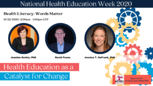 NHEW webinar speakers Thursday