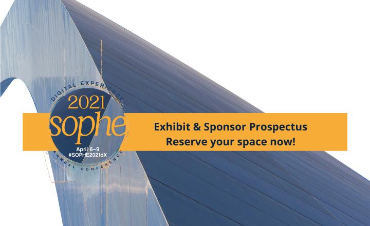 SOPHE 2021dX exhibitor & sponsor prospectus